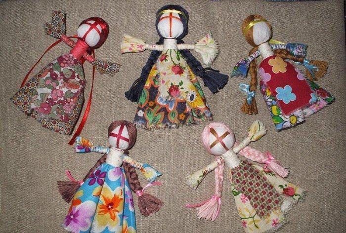 Как сделать куклу из мулине фото 997