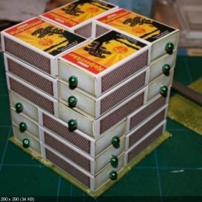 Органайзер своими руками из коробок 999