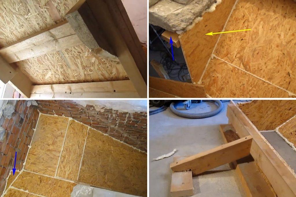 Как сделать опалубку для бетонной лестницы