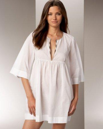 Женская ночная рубашка: выкройка ночнушки и ход работы по шитью в фото