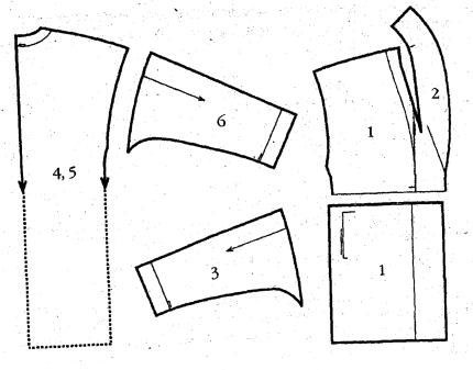 Выкройка женского полупальто из мягкого кашемира своими руками
