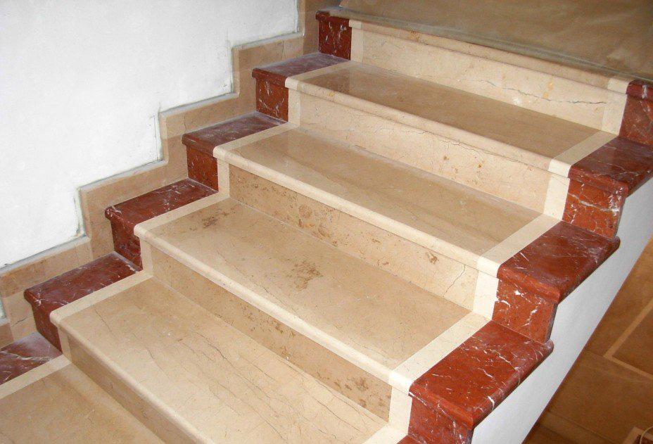 Отделка бетонной лестницы керамогранитом