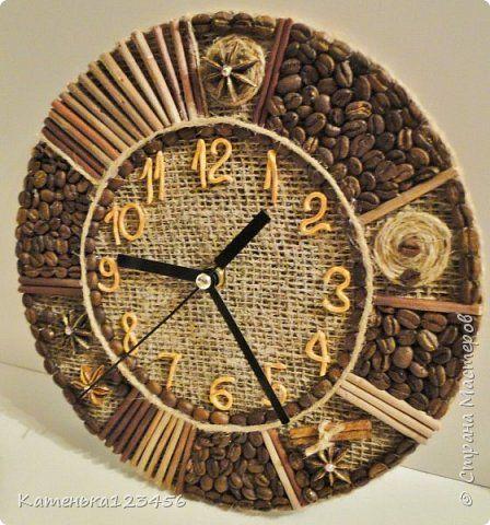 Часы из природного материала своими руками фото фото 595