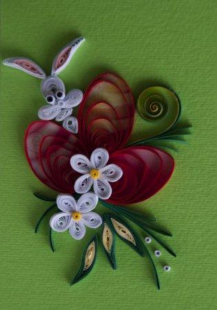 Квиллинг картинки для начинающих: работы от болгарской рукодельницы Нели в фото