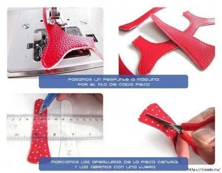 Летние босоножки для малыша: схема и ход работы по шитью в фото