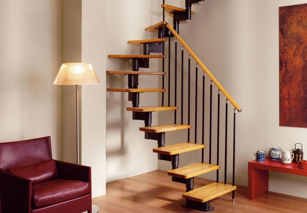Дугообразная модульная лестница