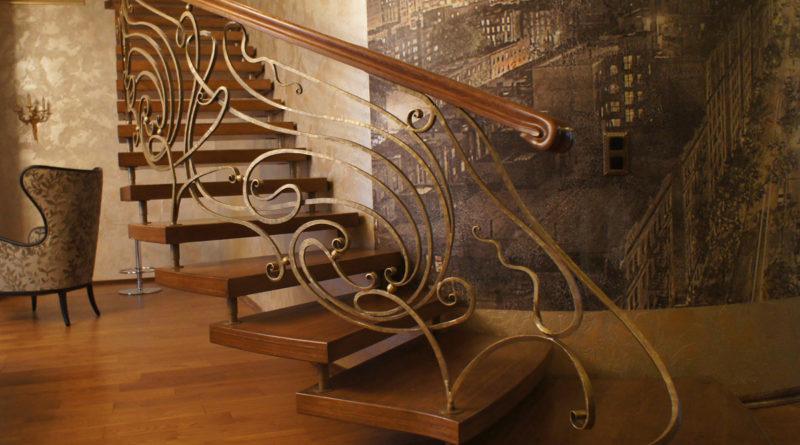 Особенности кованых лестниц: виды, преимущества и технология изготовления |+55 фото в фото