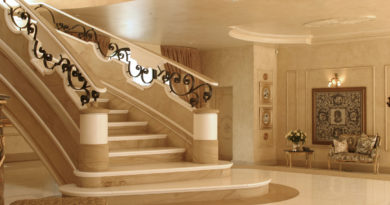 Преимущества и особенности лестниц из природного и искусственного камня (+52 фото)