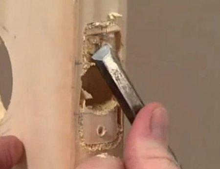 Установка дверных ручек своими руками в фото