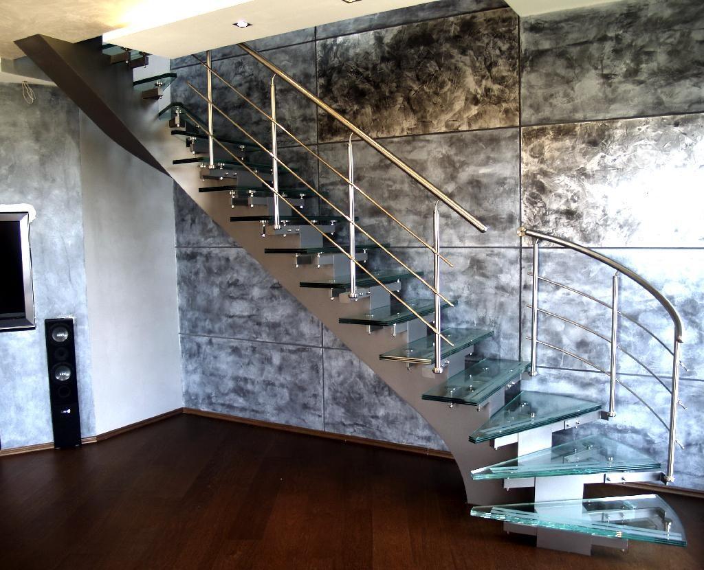Хребтовая лестница из нержавейки