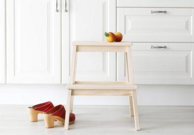 Табурет с трансформацией в лестницу – универсальный стул или два предмета в одном