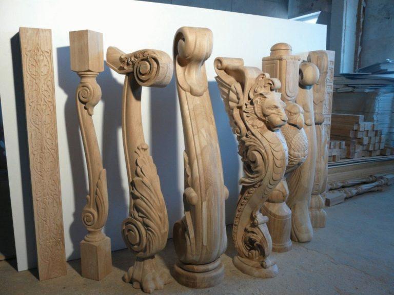 Купить прямую деревянную лестницу на заказ, цена на прямые