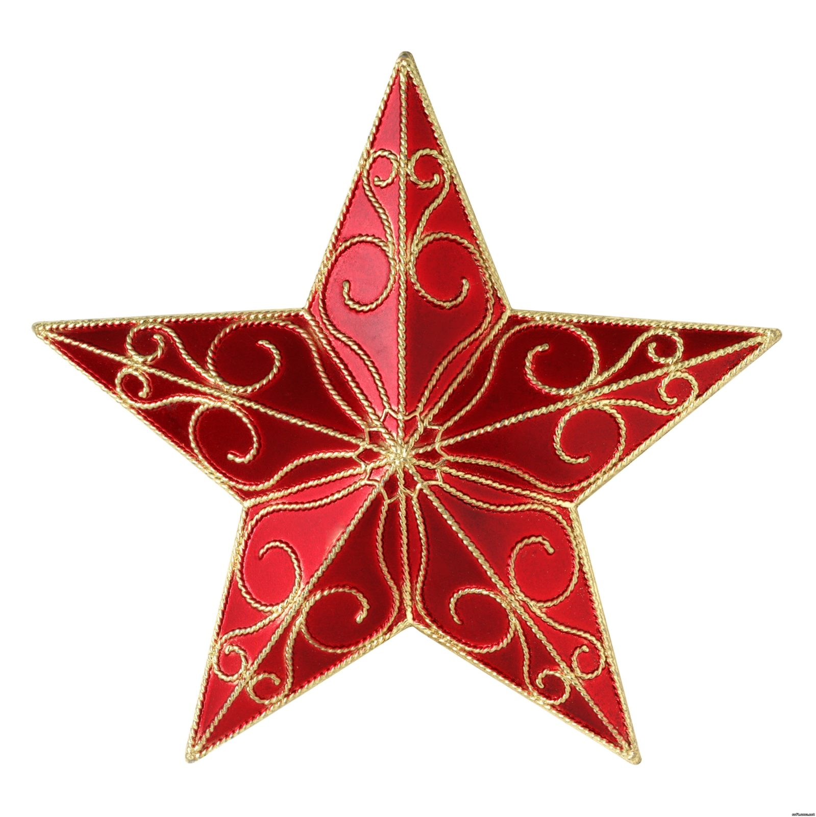 Красивая звезда из проволоки в интерьере