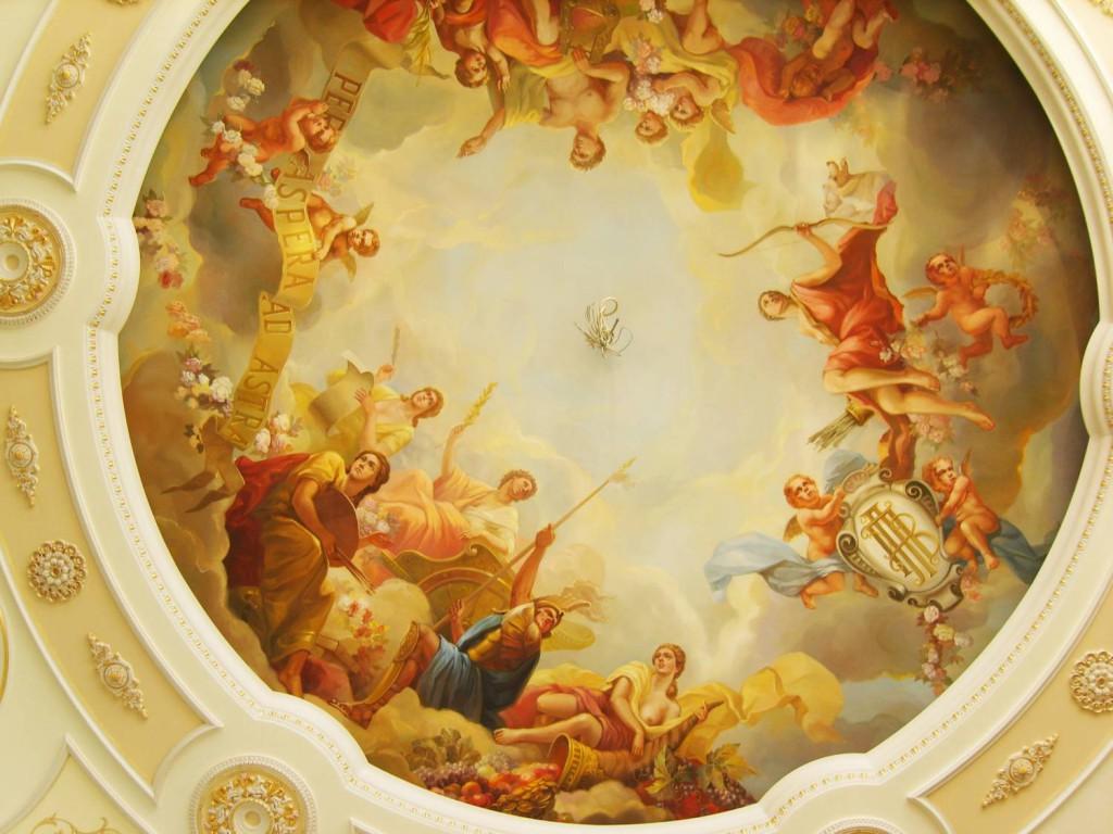декор потолка своими руками