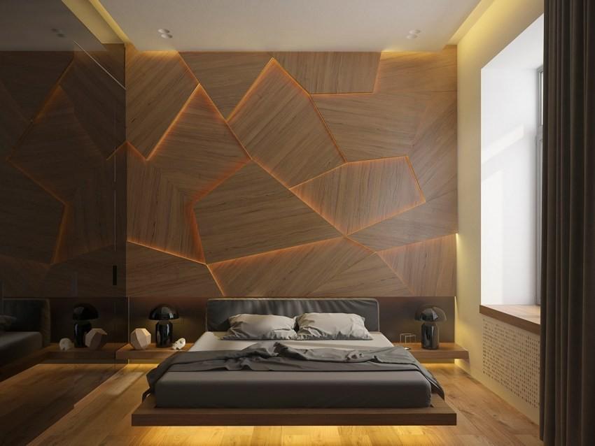 Деревянные элементы в дизайне квартиры