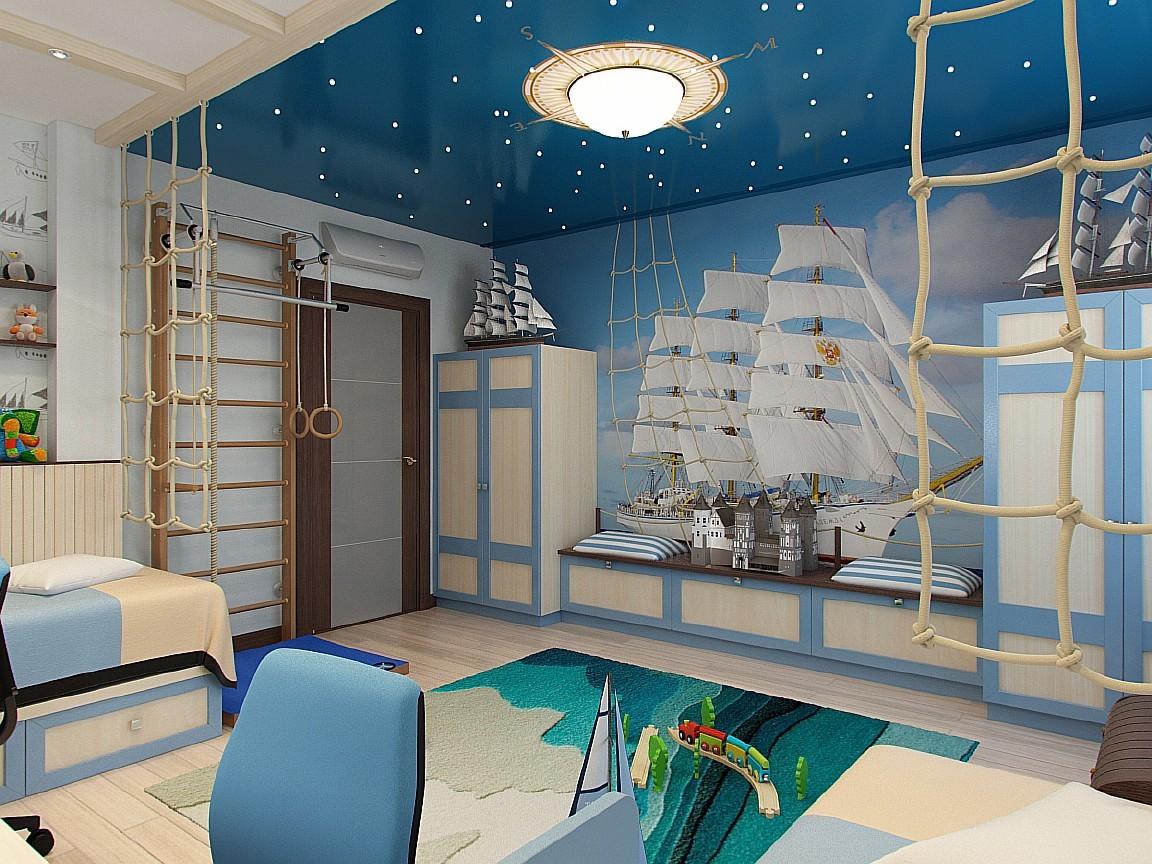 Морской дизайн интерьера