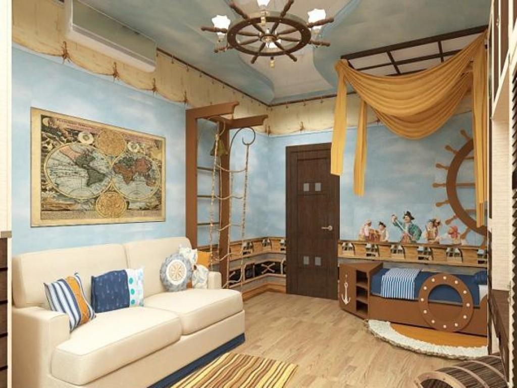 Красивый и практичный интерьер детской комнаты