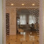 Искристый креатив штор из бусин (+50 фото)