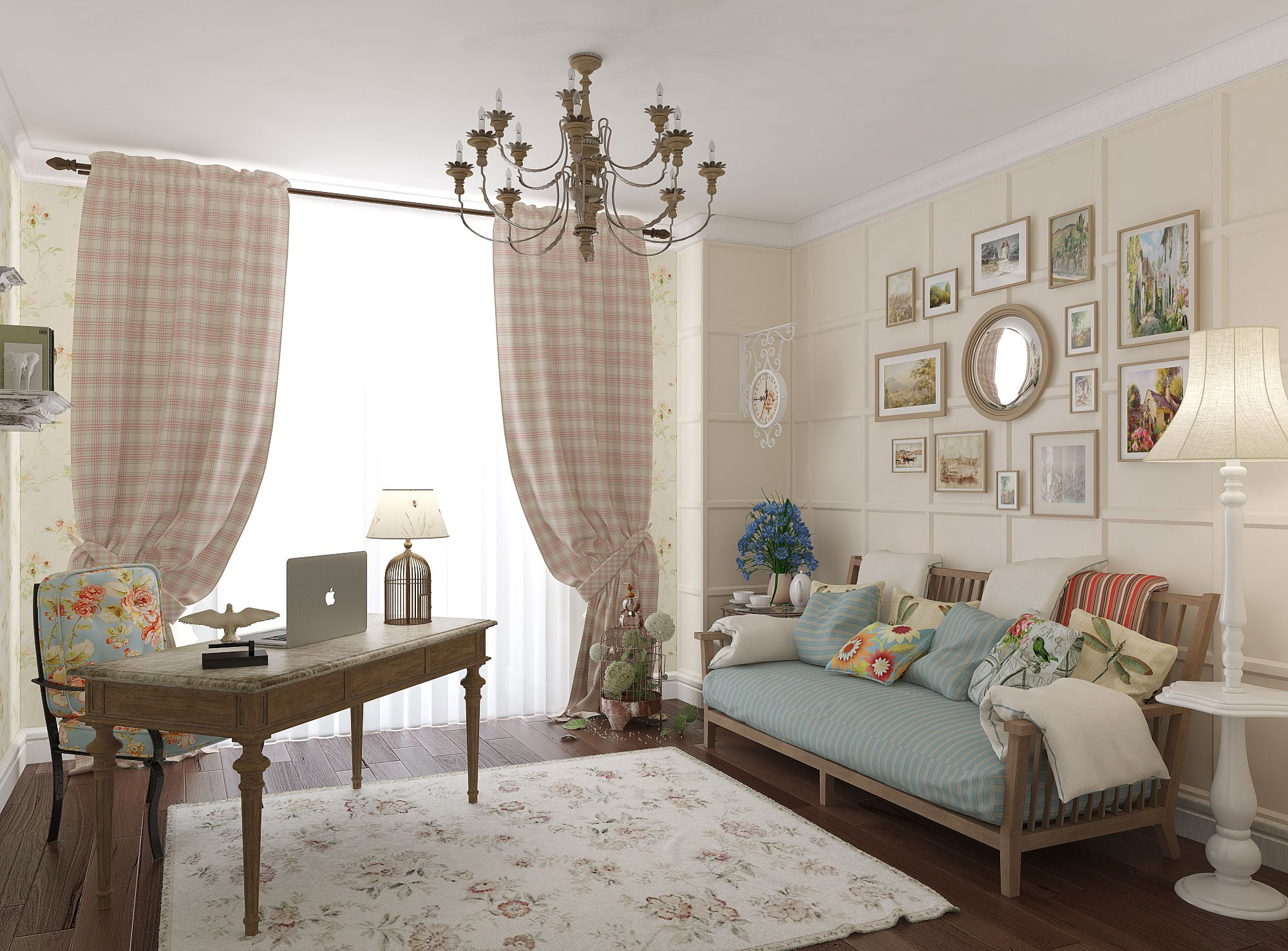 Цвет штор в интерьере: 7 разных стилей