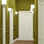 Интерьер длинного коридора - планирование узкого пространства