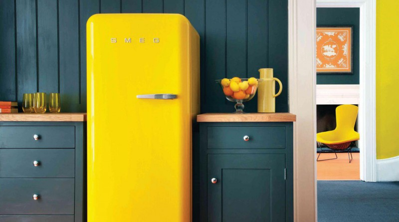 как встраивают холодильник в кухню
