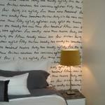 Декорирование для стен: трафареты, наклейки, драпировка
