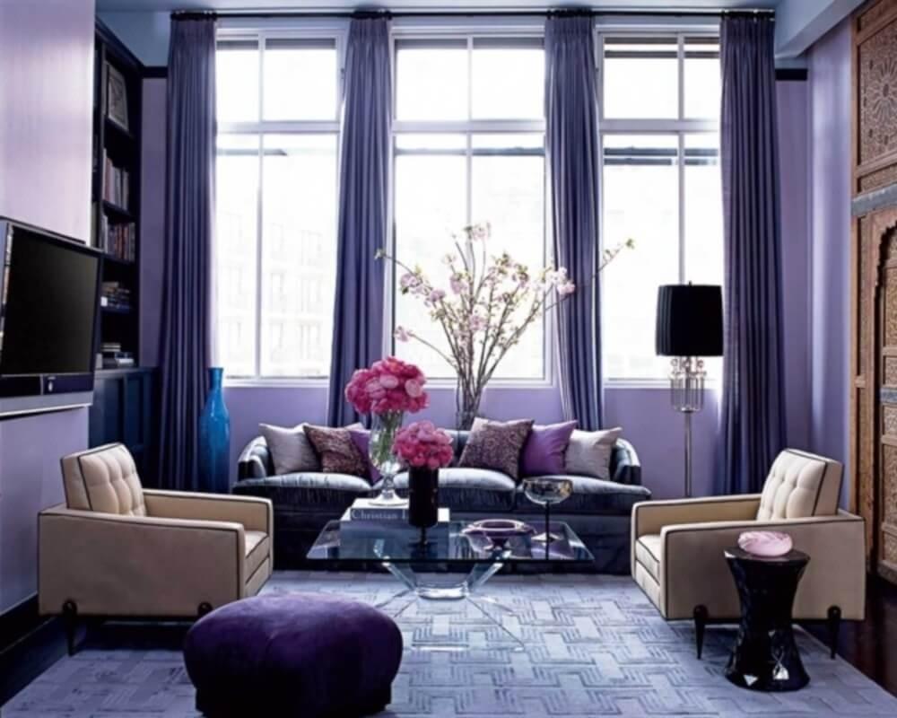 Как использовать второй цвет в комнате