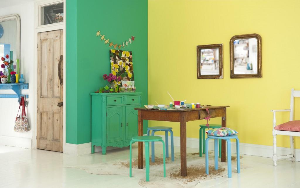 покраска стен квартиры в цвета