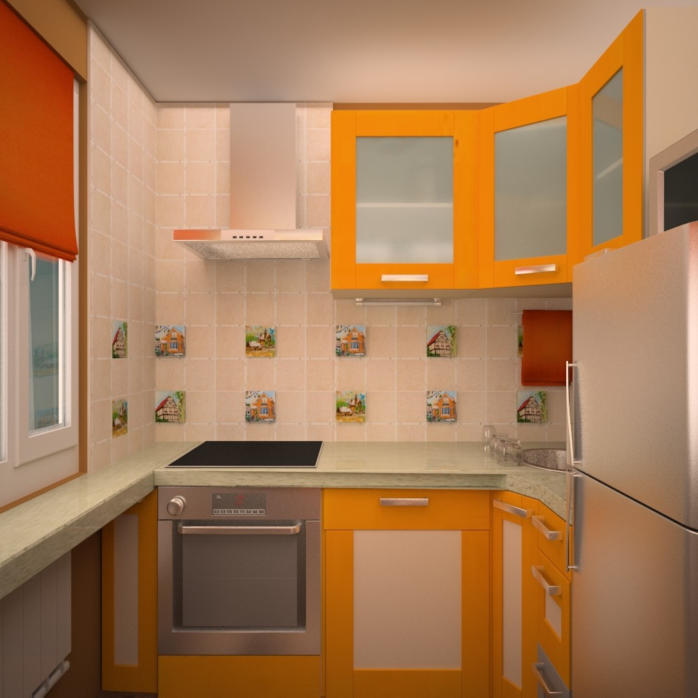 дизайн для маленькой кухни в хрущевке
