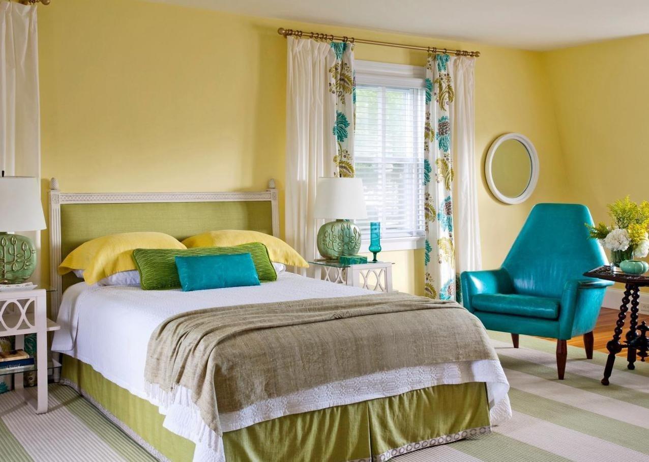 10 идеальных сочетаний цветов для спальни