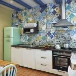 Оформление небольшой кухни в хрущевке (+50 фото)