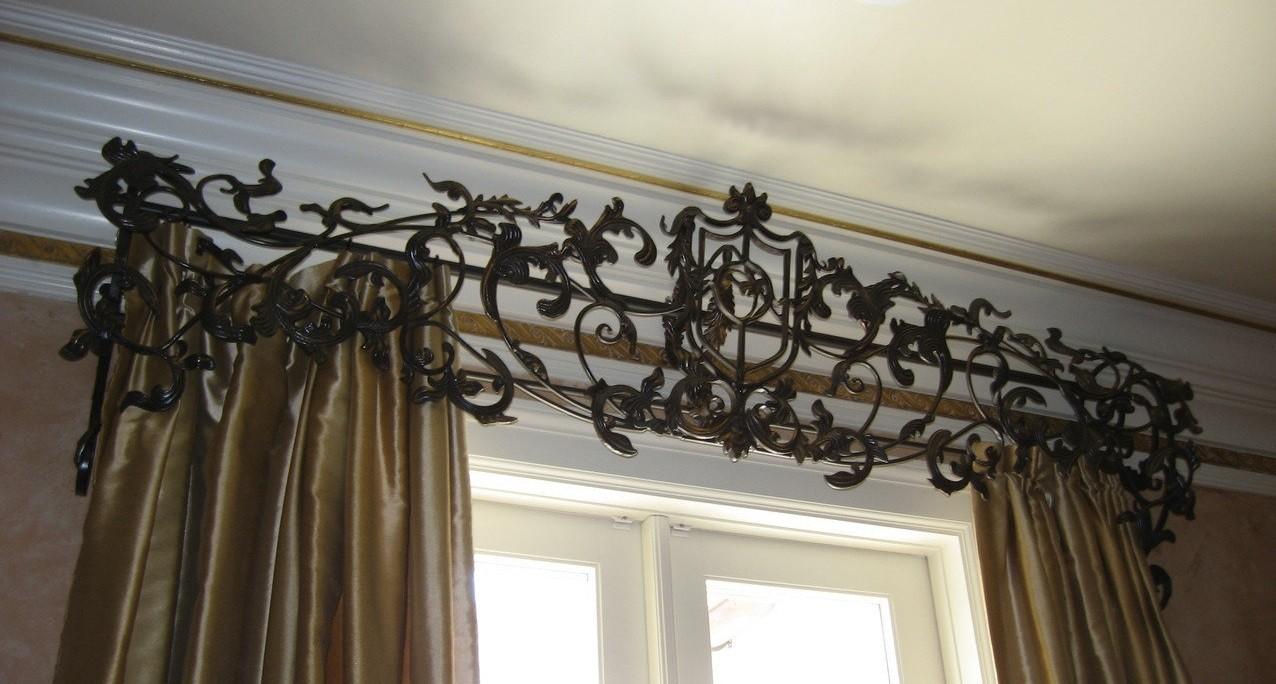 В каком стиле стоит использовать кованый декор?