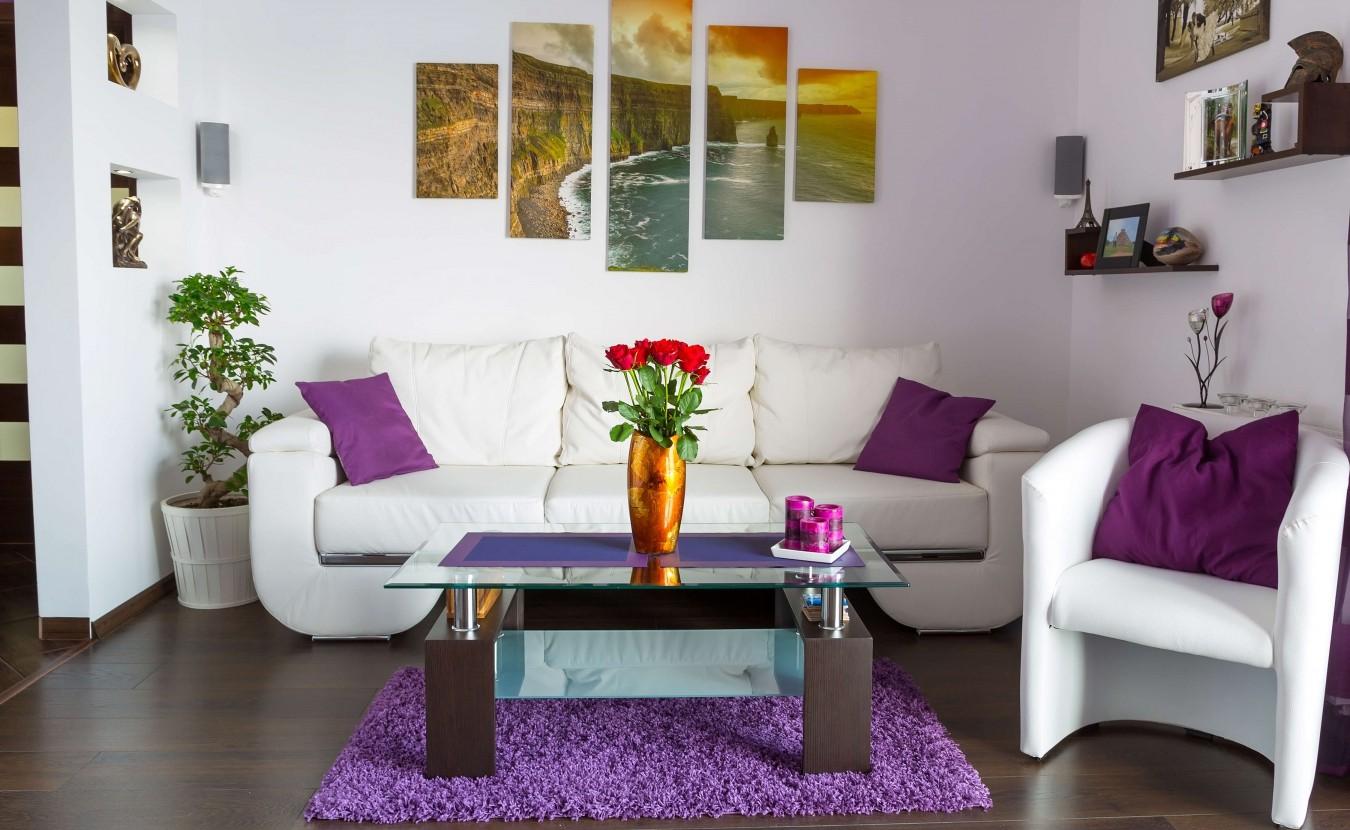 Выбор цвета и материалов в современном интерьере