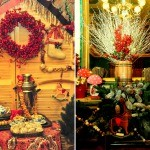 Новогоднее оформление интерьера: идеи украшений в разных стилях