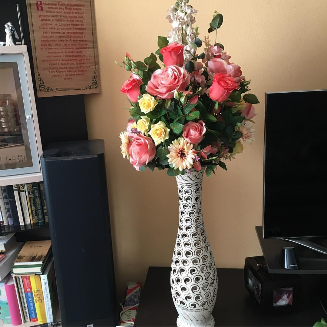 Искусственные цветы в дизайне