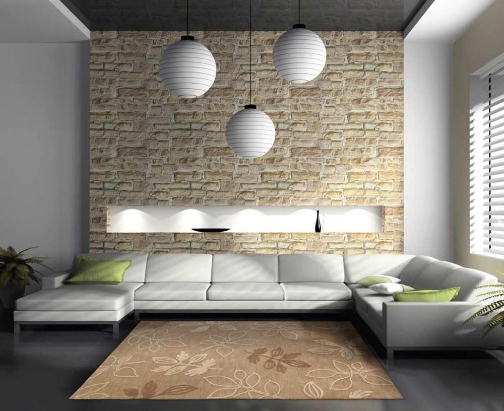 Применение декоративного кирпича в интерьере