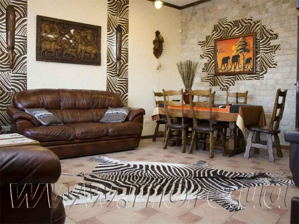 Африканский стиль интерьера: черты и особенности