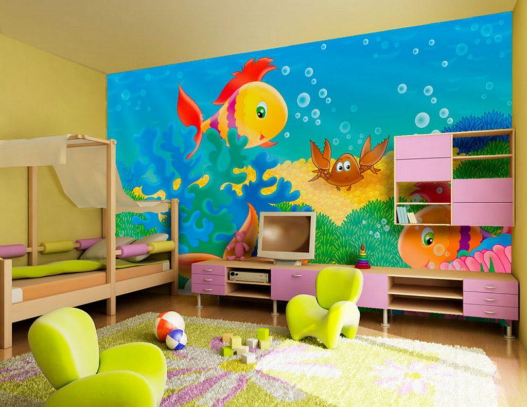 Детские фотообои для стен