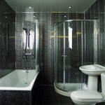 Отделка ванной комнаты современными пластиковыми панелями — дизайн и монтаж