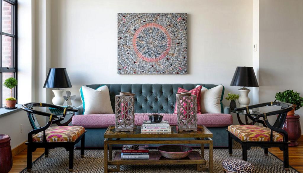 Бохо стиль в интерьере квартиры