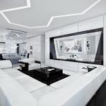 Основные характеристики стиля хайтек в квартире (+38 фото)