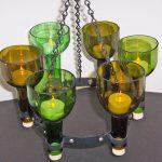 Оригинальные светильники из различных бутылок своими руками (3 МК)