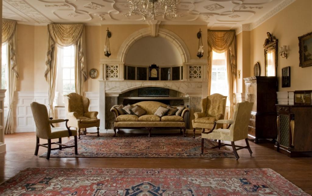 Итальянский стиль в интерьере гостиной