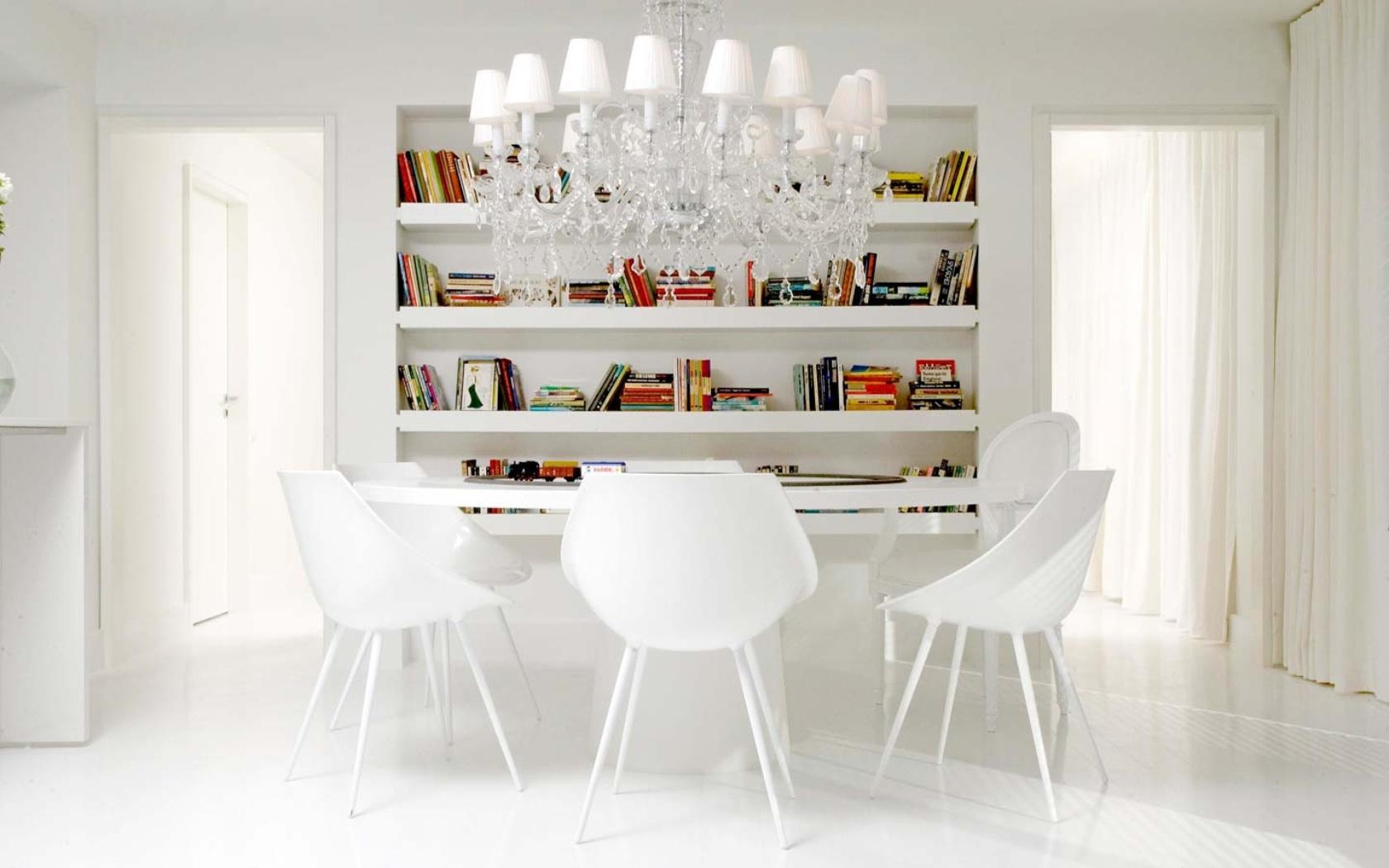 Использование белого цвета в современном интерьере