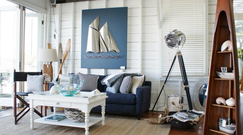Морской стиль в интерьере: как оформить комнаты и создать уют