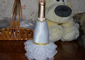 Оформление шампанского мастер-класс