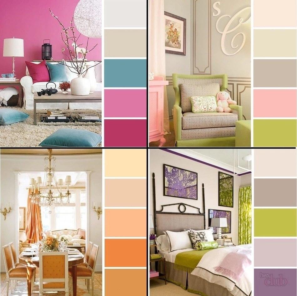 10 причин воспользоваться спектром цветов в интерьере