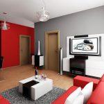 Отделка стен с покраской двумя цветами: варианты комбинированного окрашивания