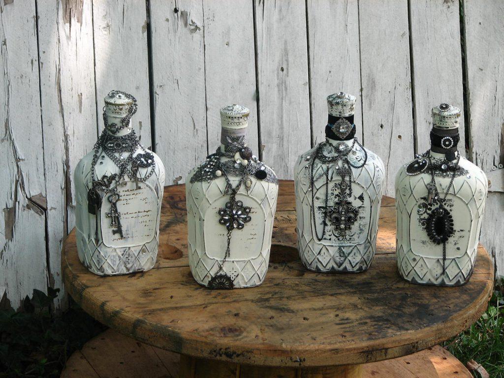 Вазы из бутылок своими руками