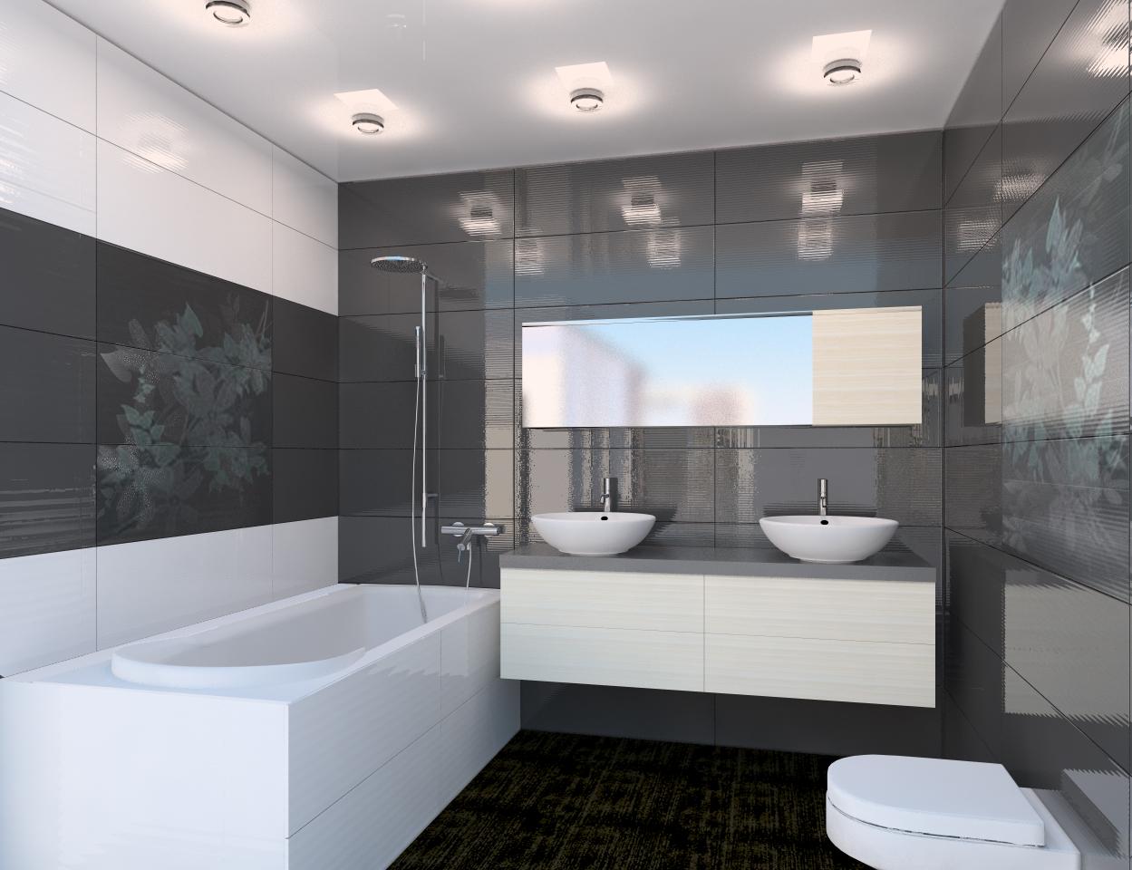 Новинки декора в интерьере ванной комнаты